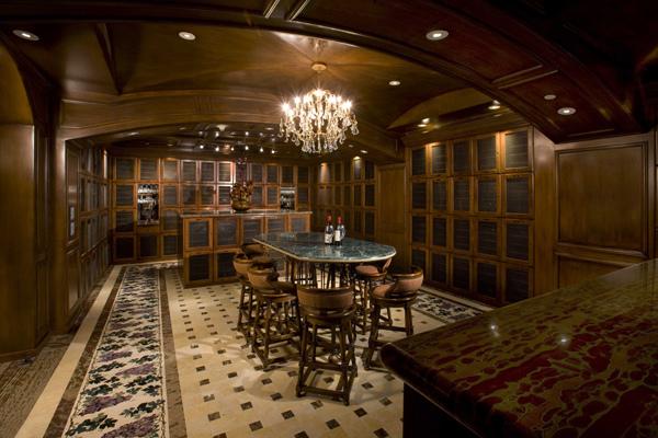 Queensridge Las Vegas High Rise Condos for Sale Wine Room