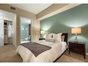 The Martin Las Vegas Condos - A Floor Plan  Bedroom