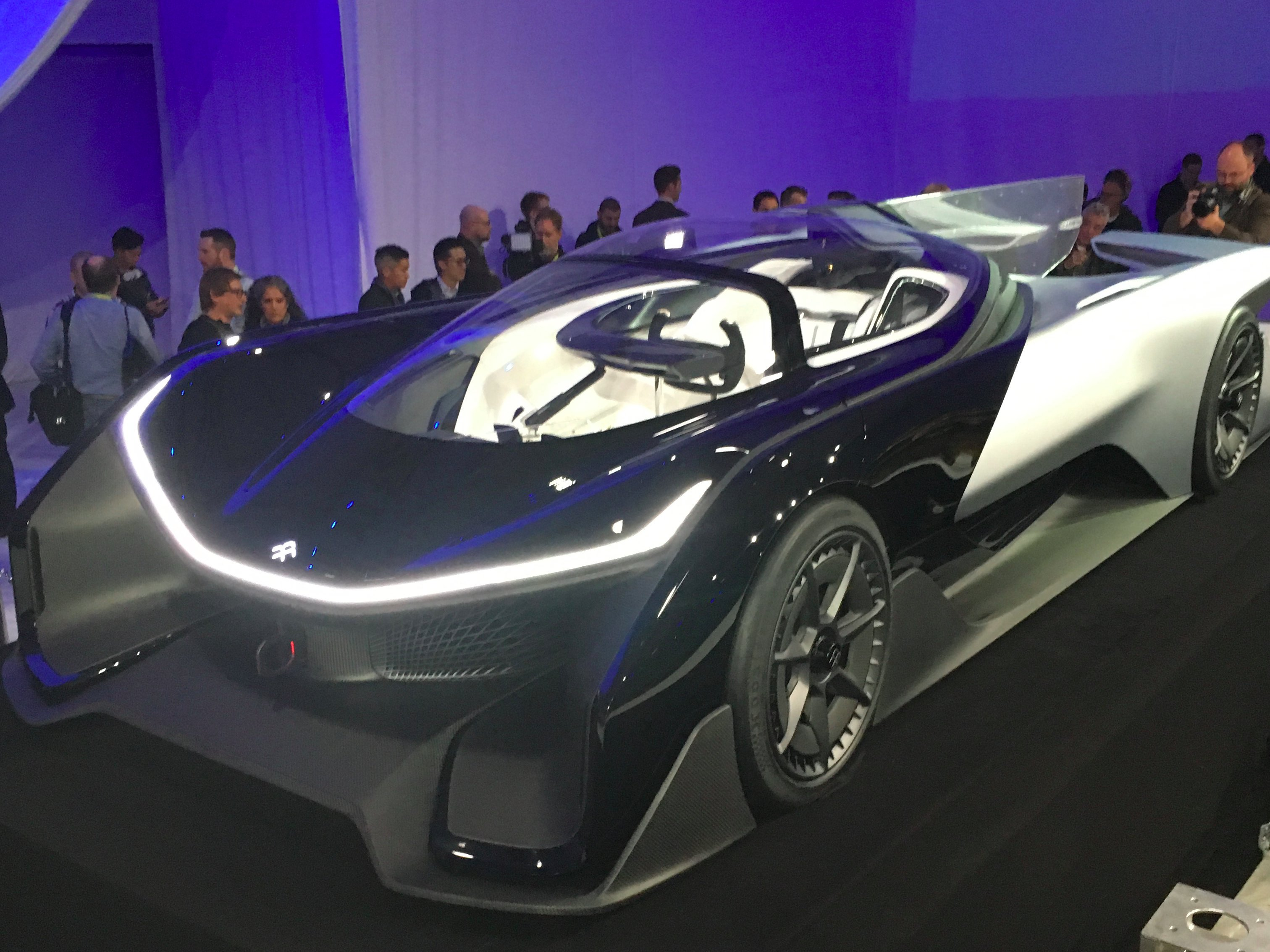 Future Of The Car: FFZERO1 Faraday Future Concept Car