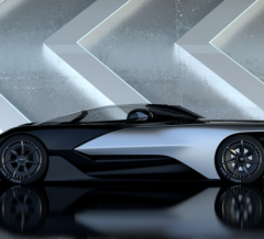 FFZERO1 Faraday Future Concept Car - Las Vegas NV