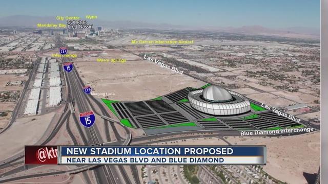 New Proposed Las Vegas Stadium Sight For The Raiders Las Vegas High Rise Condo Living Savi Realty
