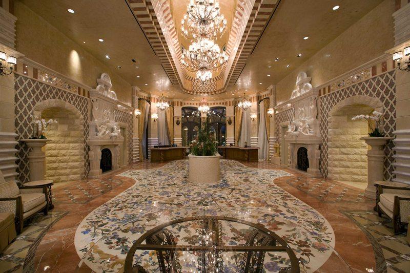One Queensridge Las Vegas Lobby Las Vegas Condos