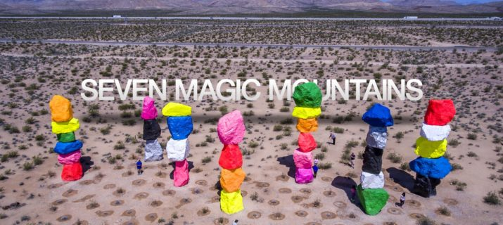 Seven Magic Mountains Las Vegas Art