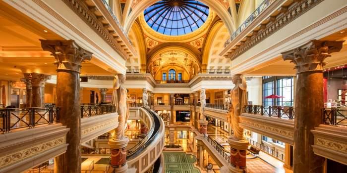 Caesars Palace Shopping Las Vegas Condos