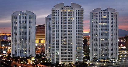 Turnberry Place Condos for Sale Las Vegas Condos View of Towers