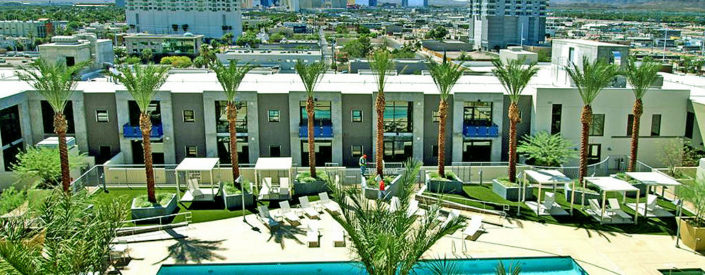 JUHL Las Vegas Condos for Sale Pool Area